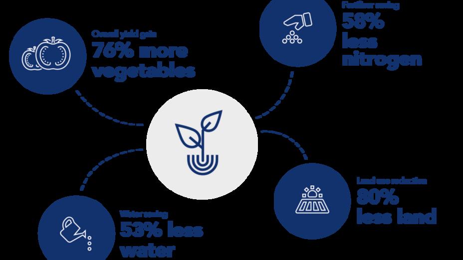 Grodan infographic. Sustainability report 2017